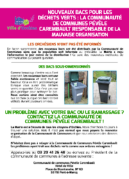 Tract déchets verts